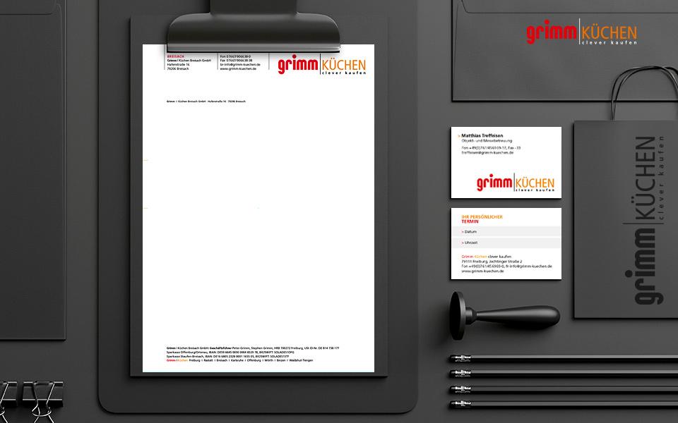 Grimm Küchen « bente : : werbung + design